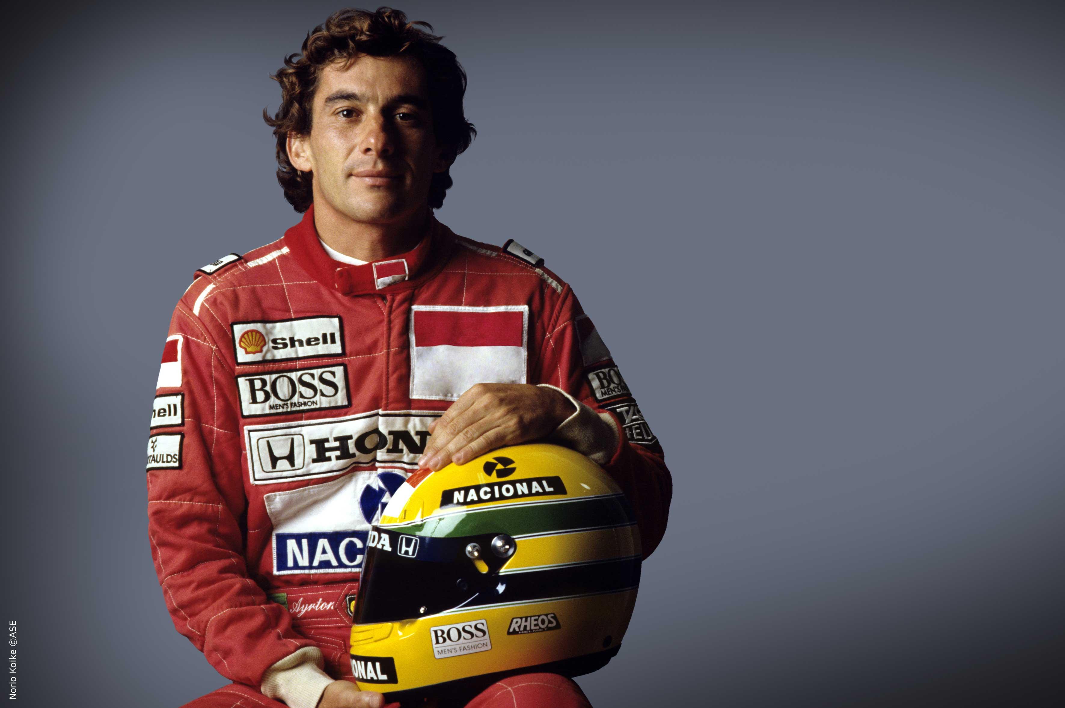 Foto Ayrton Senna by Norio Koike @ASE
