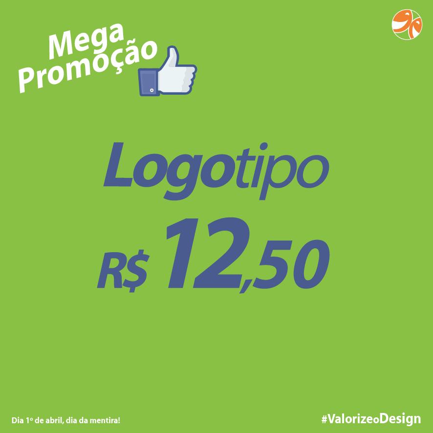 Mega Promoção, Logotipo R$ 12,50