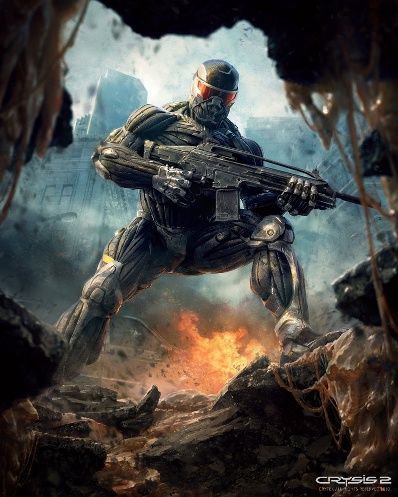 Marek Okon Crytek Crysis 2 promocional