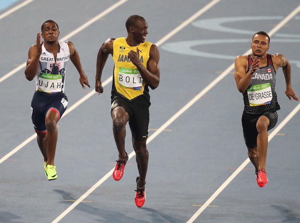 Usain Bolt 2016 100 metros Rio 2016